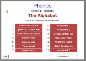 Phonics - Reading Readiness