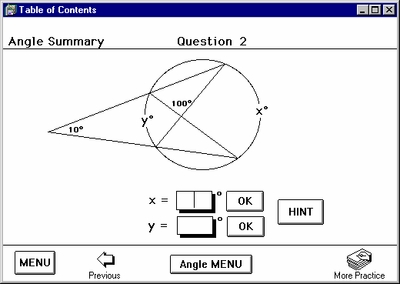 """Program 4: """"Circles"""" with Right Triangle Geometry"""