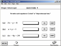 Students enter answers
