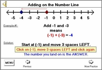 Understand the details of Signed Numbers with Audio Assistance