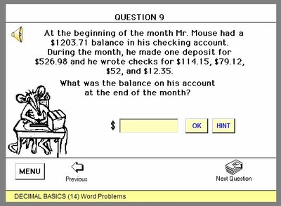 Word Problems - Money Concepts