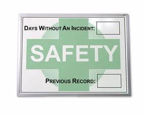 24 x 36 Dry Erase Safety Track Board