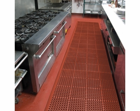 T11 San Eze II Modular Anti-Fatigue Food Service Mat