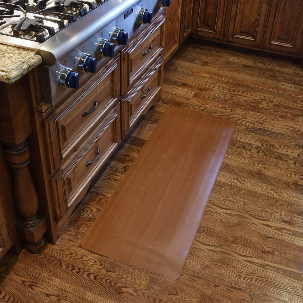 Softone Wood Grain Kitchen Mats