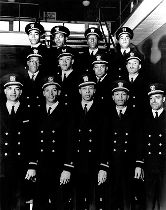 1st African American Naval Officers Navy Photo Print