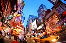 42nd Street Times Square New York City Photo Print for Sale