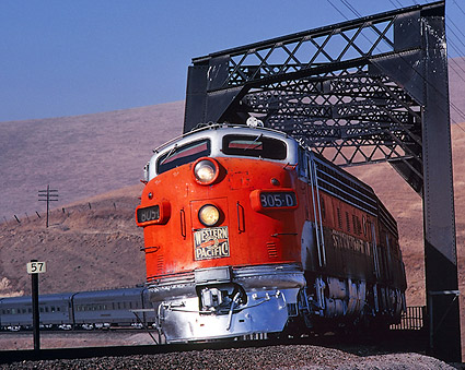 805-D 'California Zephyr' Western Pacific Railroad Photo Print