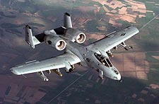 A-10 Thunderbolt in Flight Photo Print for Sale
