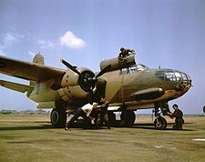 A-20 Bomber Aircraft at Langley Field Photo Print for Sale