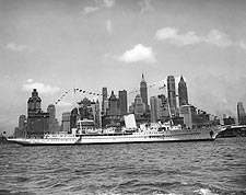Adolph Hitler Personal Yacht Grille in NYC Photo Print for Sale