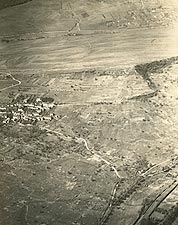 Aerial View of Norroy, France WWI Photo Print for Sale