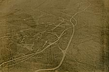 Aerial View of Verdun, France WWI Photo Print for Sale