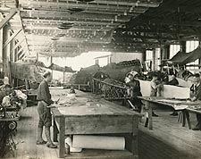Aircraft Factory WWI 1917 Photo Print for Sale