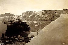 Alaska Glaciers Edward S. Curtis 1889 Photo Print for Sale
