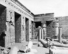 Ancient Egyptian Temple of Ramesses in Egypt Photo Print for Sale