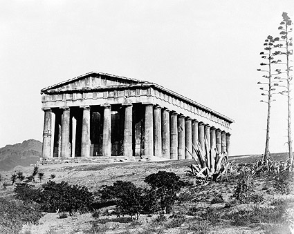Ancient Greek Temple of Hephaestus Greece Photo Print