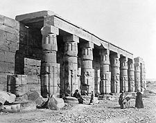 Ancient Temple of Ramesses IV Thebes, Egypt Photo Print for Sale