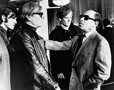 Andy Warhol & Tennessee Williams Aboard S.S. France Photo Print for Sale