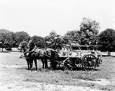Antique Horse Drawn Fire Engine York, PA Photo Print for Sale