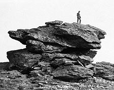 Anvil Rock Nome, Alaska 1900 Photo Print for Sale