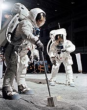 Apollo 11 Buzz Aldrin and Moon Samples Photo Print for Sale