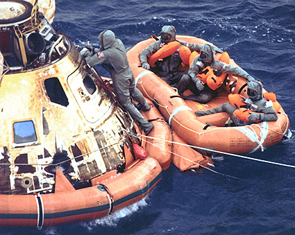 Apollo 11 Mission Spacecraft Recovery Photo Print for Sale