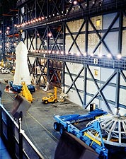 Apollo 13 Spacecraft Before Rocket Mating Photo Print for Sale