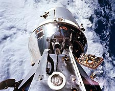 Apollo 9 Command Module and Lunar Module Docked Photo Print for Sale