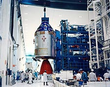 Apollo 9 Command Module Mating Adapter Photo Print for Sale