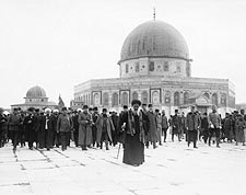 Arab-Jew Riots at Dome of The Rock Photo Print for Sale
