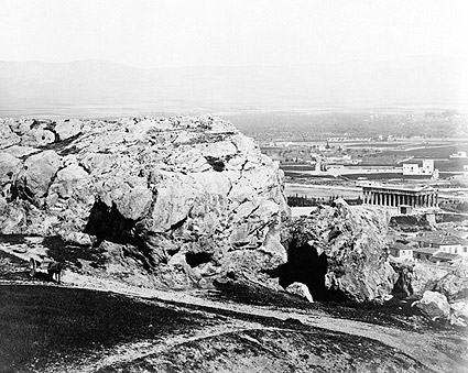 Areopagus & Temple of Theseus in Athens, Greece Photo Print