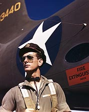Army Test Pilot F.W. Hunter WWII Photo Print for Sale