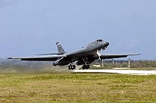 B-1 Lancer Bomber Aircraft Air Force Photo Print for Sale