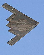 B-2 Stealth Bomber Aircraft Underside Photo Print for Sale
