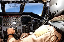 B-52 Bomber Cockpit & KC-135 Refueling Photo Print for Sale