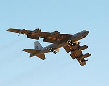 B-52 Bomber w/ Flaps and Landing Gear Down Photo Print for Sale