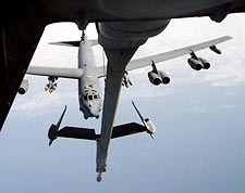 B-52 in Flight Refueling View Photo Print for Sale