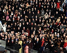 Barack Obama Sworn In to Office 2009 Photo Print for Sale