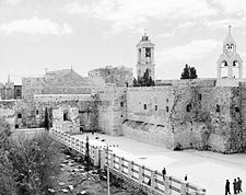 Bethlehem Church of the Nativity Exterior Photo Print for Sale