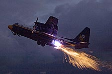 Blue Angels C-130 'Fat Albert' Jet Assisted Takeoff Photo Print for Sale