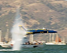 Blue Angels Demonstration Solo Maneuver Photo Print for Sale