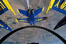 Blue Angels View from Cockpit Photo Print for Sale