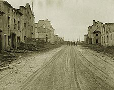 Bombed Village of �tain in France WWI  Photo Print for Sale