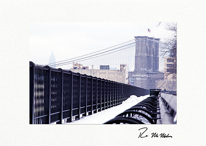Brooklyn Bridge to the Empire State Building, New York City Boxed Holiday Cards