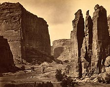 Canyon de Chelle NM Timothy O'Sullivan 1872 Photo Print for Sale