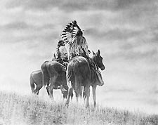 Cheyenne Indian Warriors Edward S. Curtis Photo Print for Sale