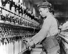Child Labor Doffer Boy Lewis Hine 1909 Photo Print for Sale