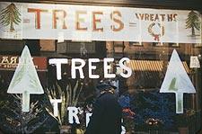 Christmas Trees and Wreaths FSA / OWI Photo Print for Sale