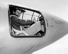 Chuck Yeager in Bell X-1 Cockpit Photo Print for Sale