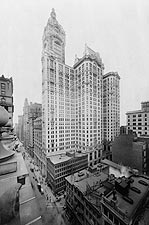 City Investing Building & Singer Tower, NYC Photo Print for Sale